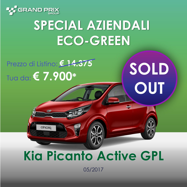 Kia Picanto Aziendale Sold out