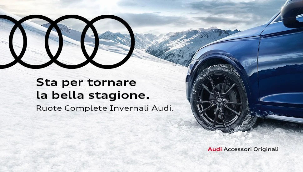 Pneumatici invernali e cerchi in lega Audi