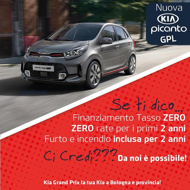 Kia Picanto Zero Rate per due anni