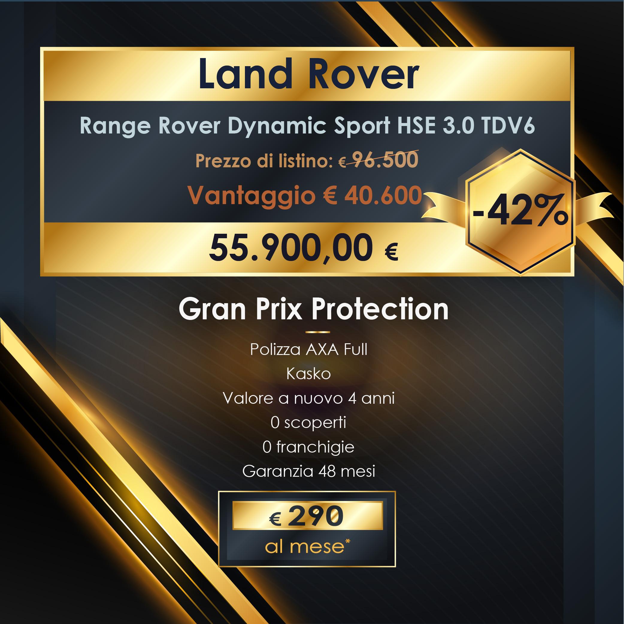 Promo Range Rover