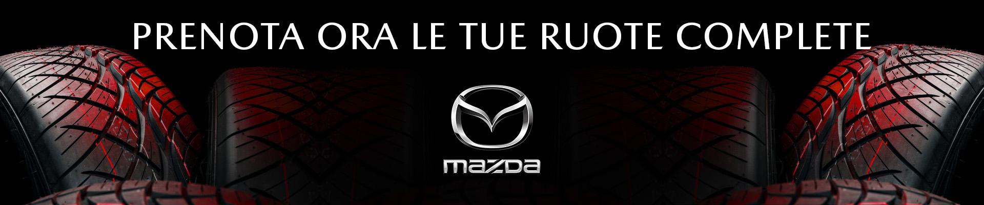 Set gomme e cerchi Mazda