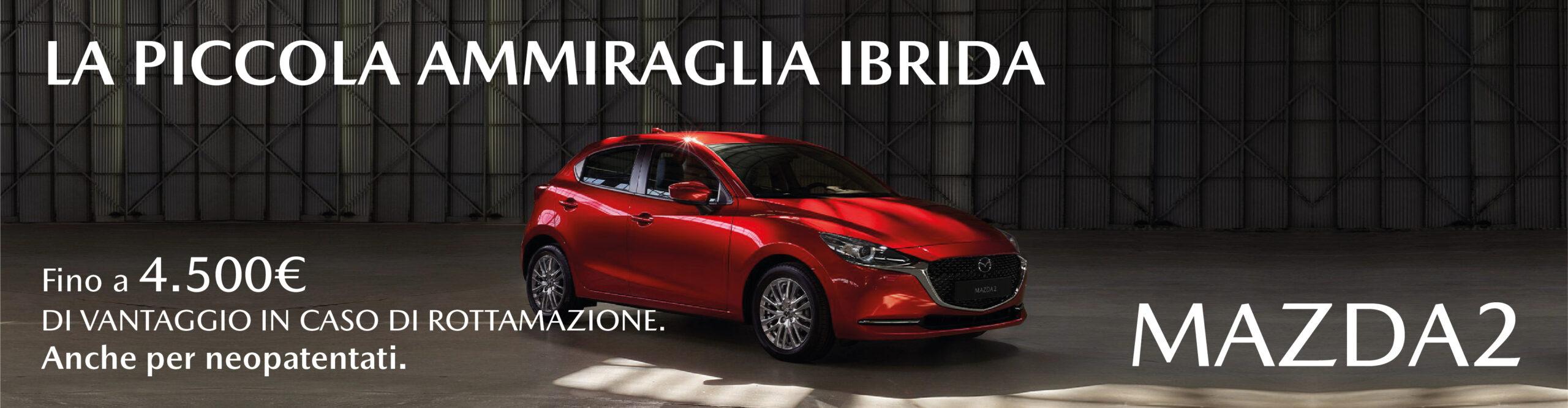 Mazda 2 Hybrid 4.500€ di vantaggi