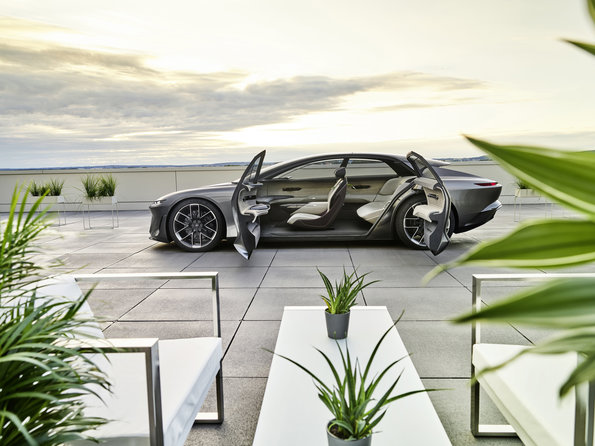 Audi grandsphere portiere