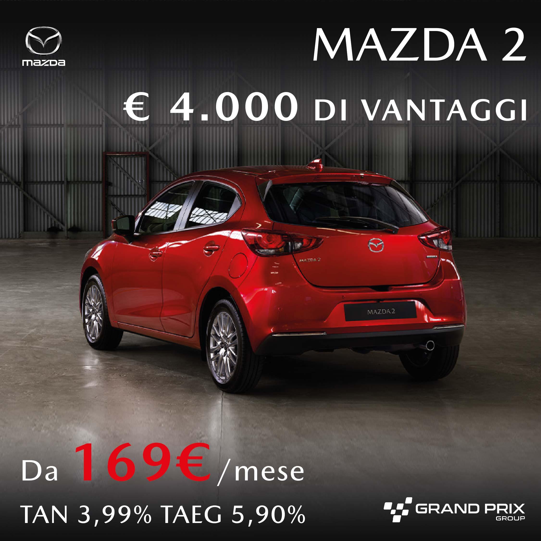 Mazda 2 vantaggi